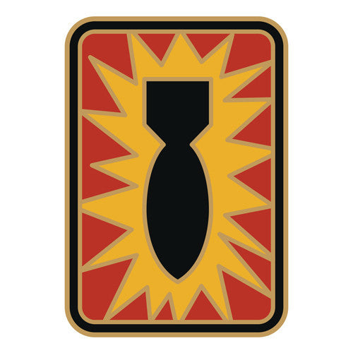 Combat Service Identification Badge Sticker - 52nd Ordnance Group Decal