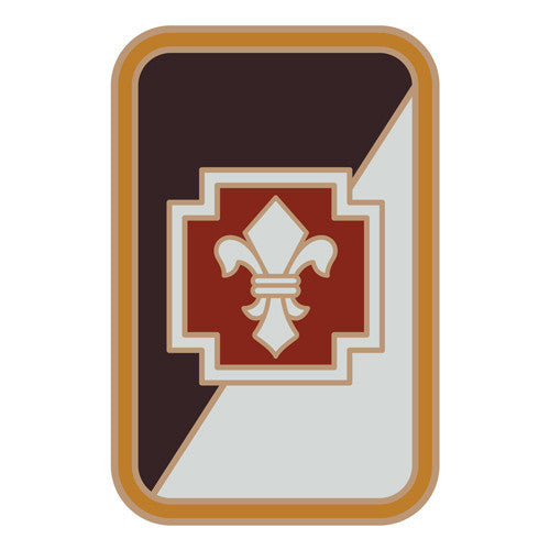 Combat Service Identification Badge Sticker - 62nd Medical Brigade Decal