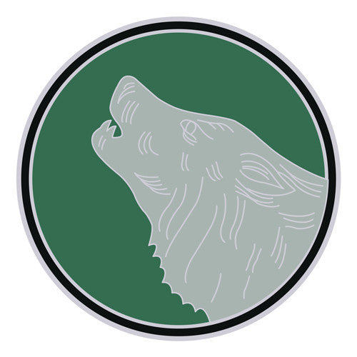 Combat Service Identification Badge Sticker - 104th Training Division Decal