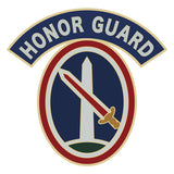 CSIB Sticker - Military District of Washington with Honor Guard Tab Decal