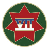 CSIB Sticker - VII (7th) Corps Decal