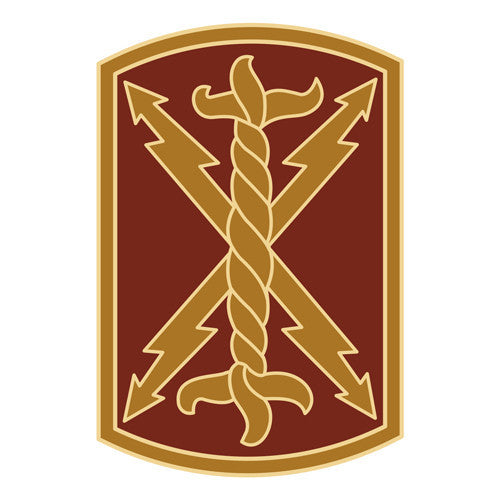 Combat Service Identification Badge Sticker - 17th Field Artillery Brigade Decal