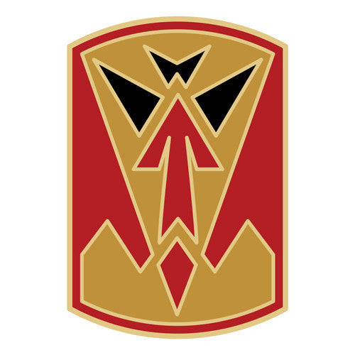 Combat Service Identification Badge Sticker - 35th ADA (Air Defense Artillery) Decal