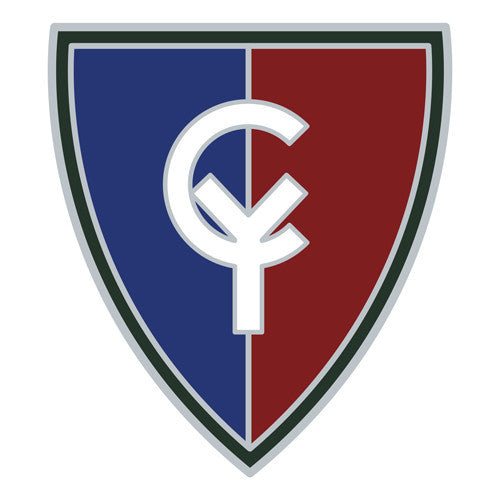 Combat Service Identification Badge Sticker - 38th Infantry Division Decal