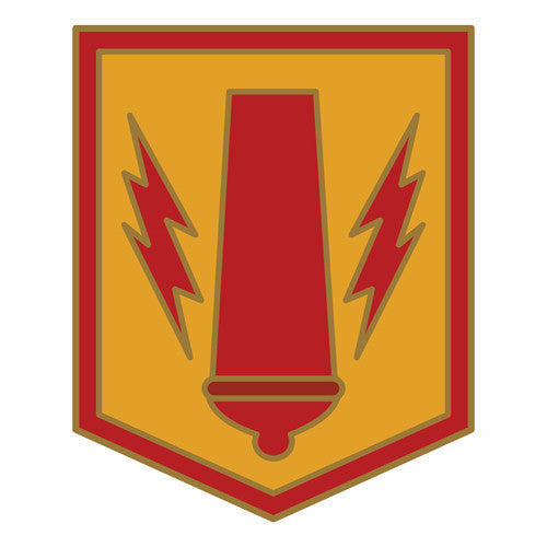 Combat Service Identification Badge Sticker - 41st Fires Brigade Decal