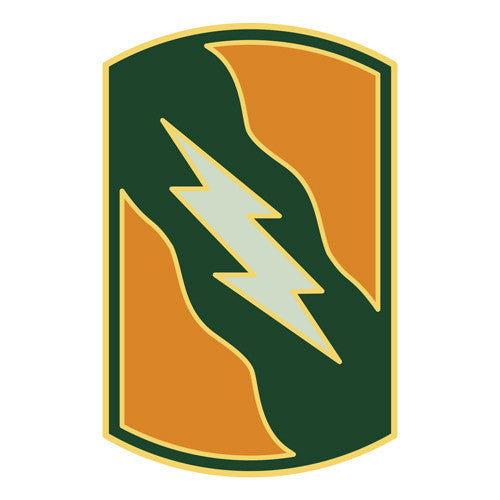 Combat Service Identification Badge Sticker - 155th Armored Brigade Decal