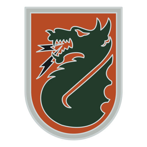Combat Service Identification Badge Sticker - 5th Signal Command Decal