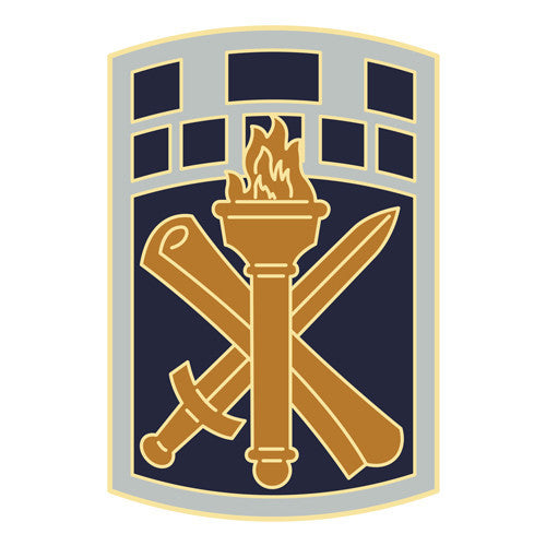 Combat Service Identification Badge Sticker - 351st Civil Affairs Command Decal