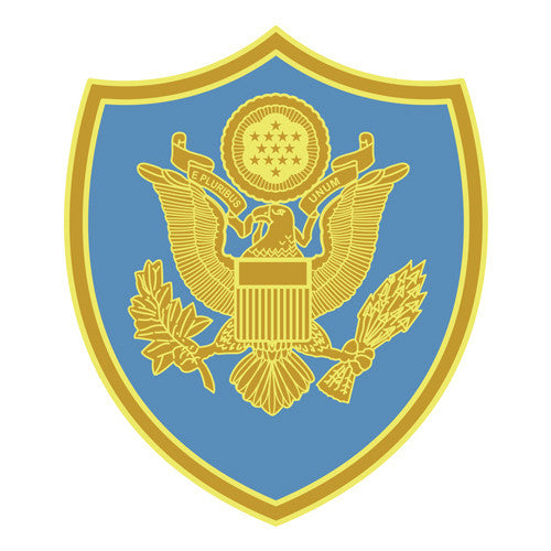 Combat Service Identification Badge Sticker - Department of Defense Joint Activities Decal