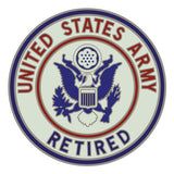 CSIB Sticker - U.S. Army Retired Decal