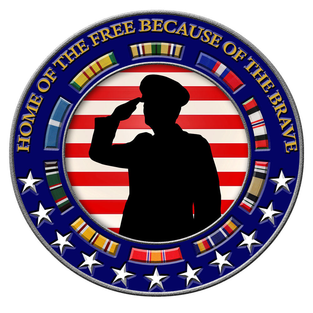Honoring Those Who Serve - Veteran Decal