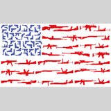 Gun Flag Sticker