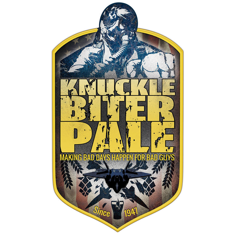 Air Force Knucklebiter Pale Ale Sticker