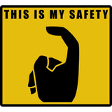 Trigger Finger Sign Sticker