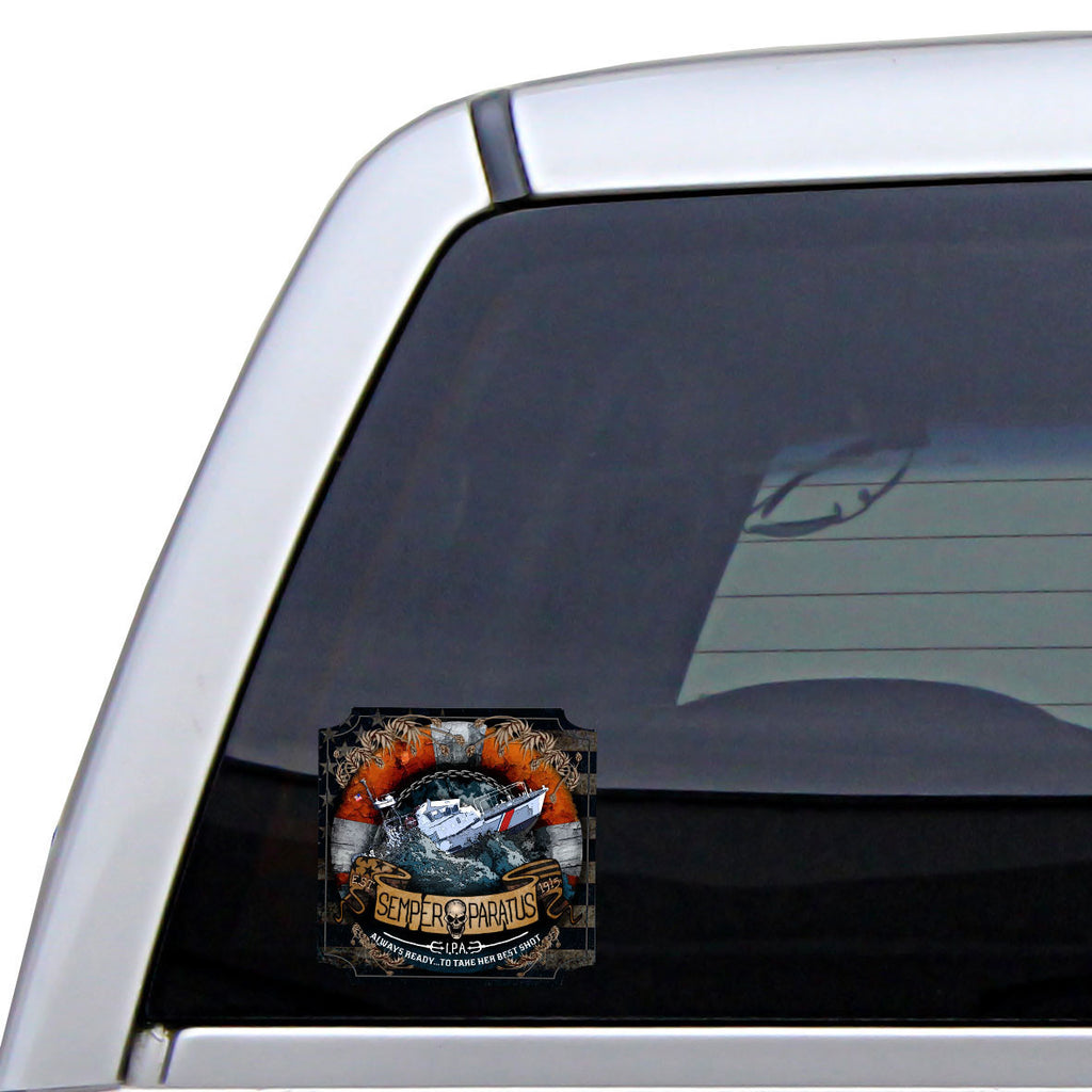Coast Guard Semper Paratus IPA Sticker