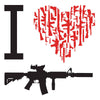 I Heart AR-15 T-Shirt