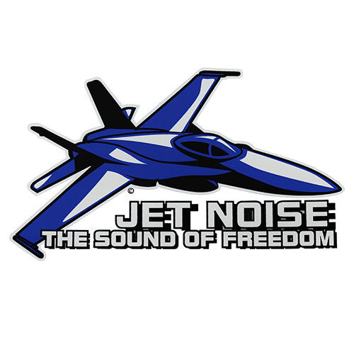 Jet Noise - The Sound Of Freedom Clear Decal