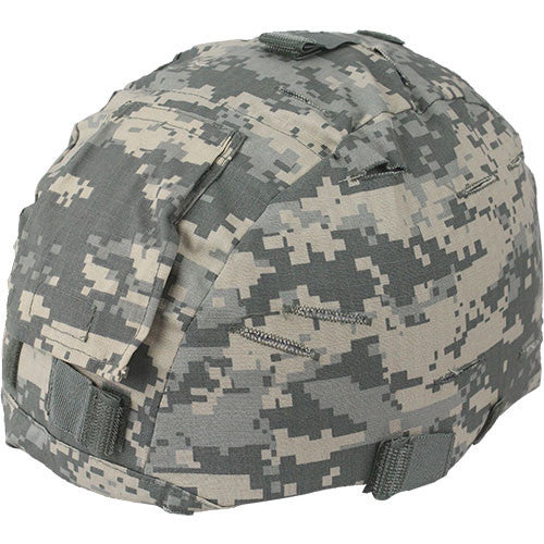 Army ACU Digital MICH Helmet Cover with Flap - Top-down