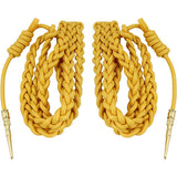 Army Dress Aiguillette - Gold Nylon