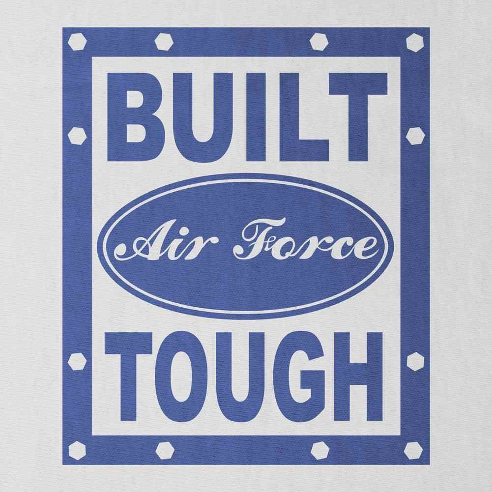 Built Air Force Tough T-Shirt - Sm - White