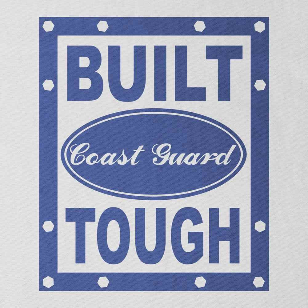 Built Coast Guard Tough T-Shirt - Sm - White