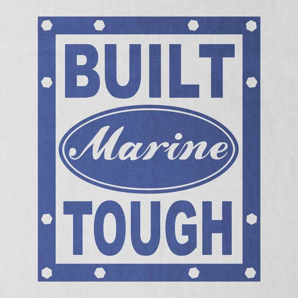 Built Marine Tough T-Shirt - Sm - White