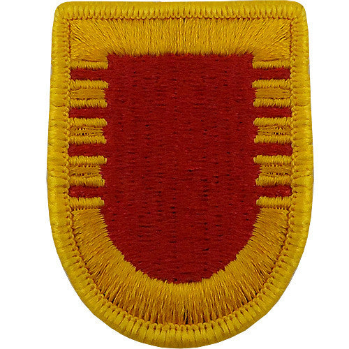 C Battery, 4th Battalion, 11th Field Artillery Beret Flash
