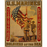 Marines - Soldiers of the Sea - 8 x 10 Canvas Print