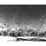 WWII Paratroopers - 8 x 10 Vintage Canvas Print