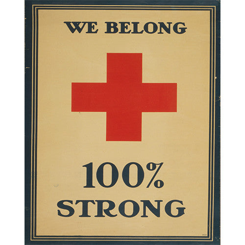 100% Strong Medic - 8 x 10 Vintage Canvas Print