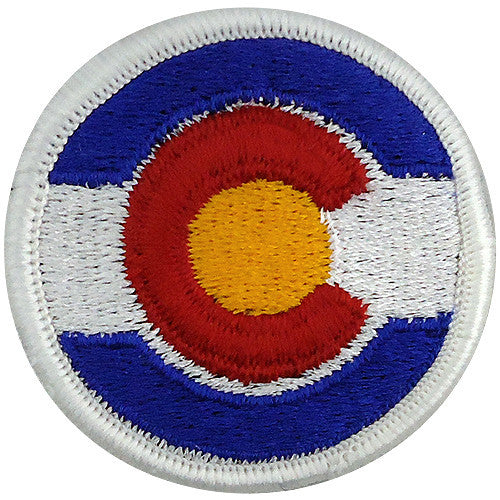 Colorado National Guard Class A Patch