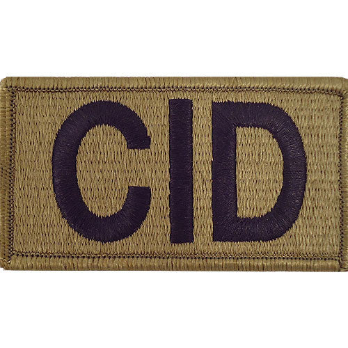 Criminal Investigation Command (CID) MultiCam (OCP) Patch
