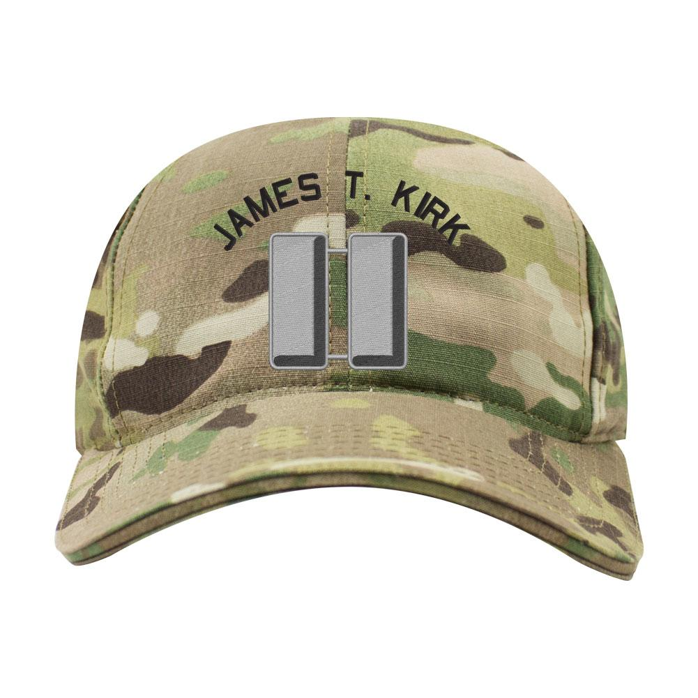 Army Officer Custom Rank Caps  - Multicam & Coyote