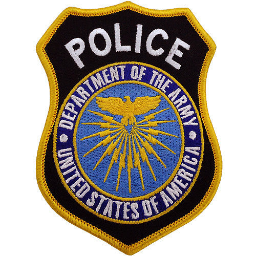 Department of the Army - Police Class A Patch (Large)