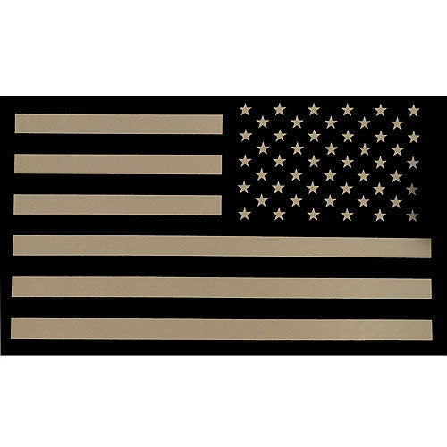 Desert Infrared  MultiCam (OCP) U.S. Flag  Patch - Reverse