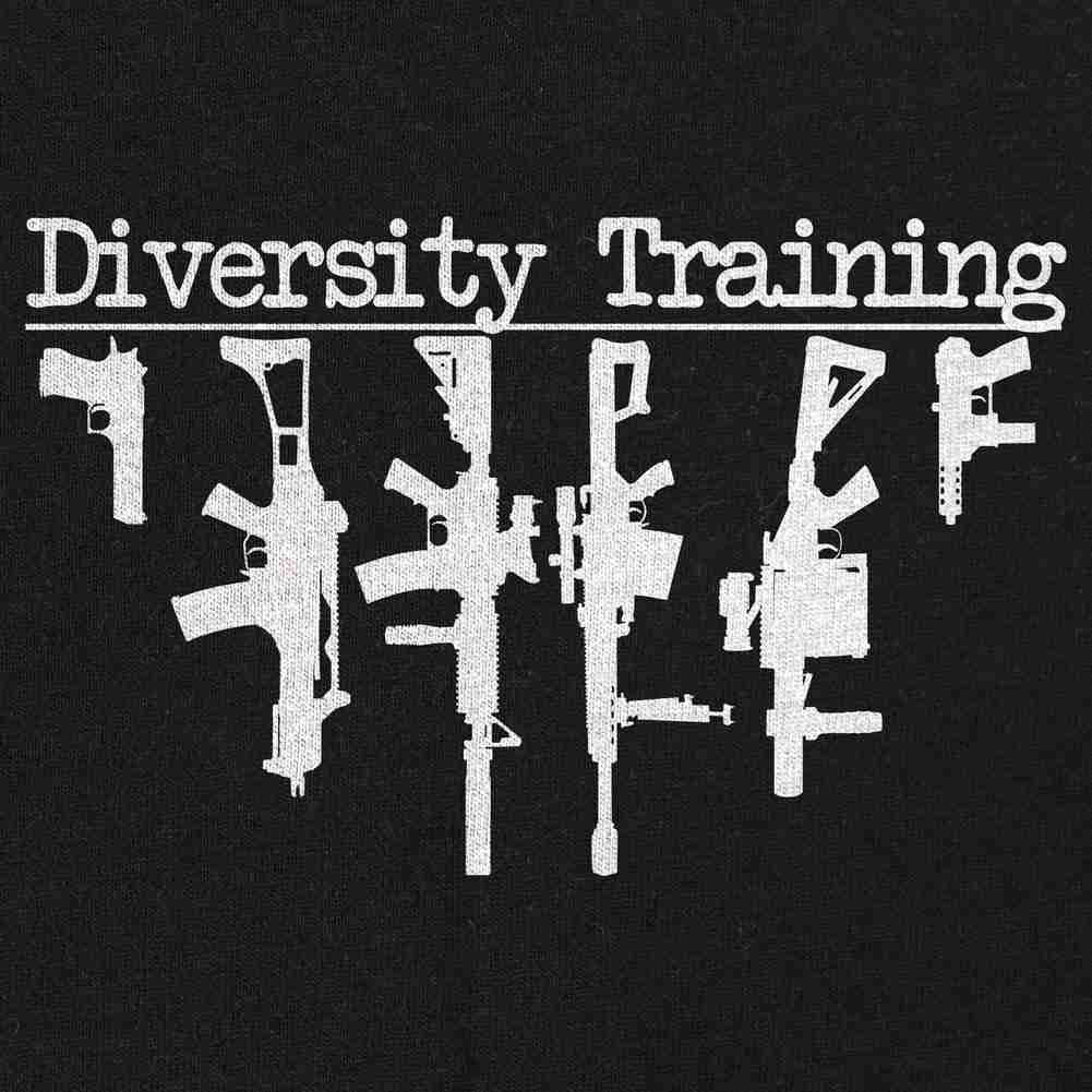 Diversity Training T-Shirt - Black - Small
