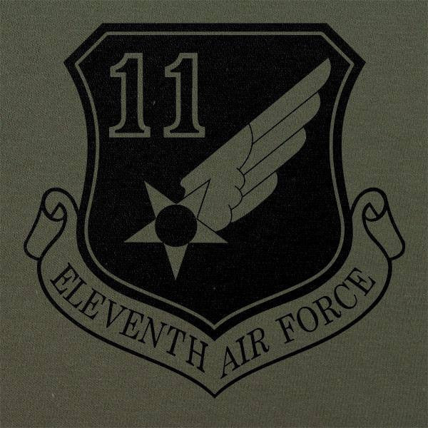 11th Air Force Subdued Patch T-Shirt