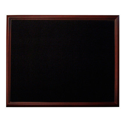 large display case black background
