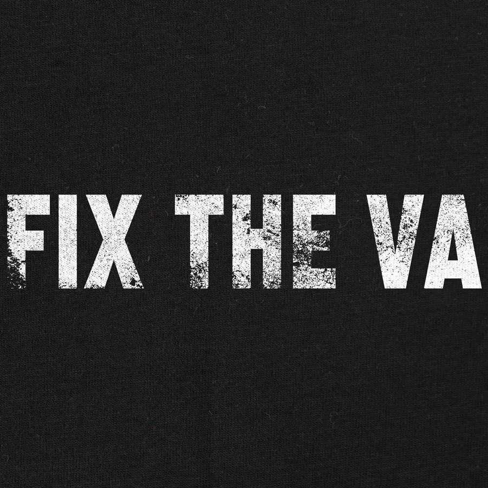 Fix the VA T-Shirt-Heather Grey-Small
