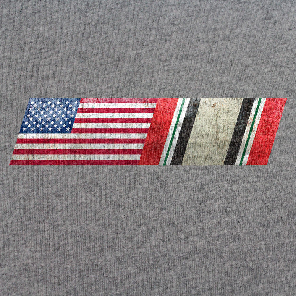 American Flag Iraq Campaign Ribbon Blend T-Shirt