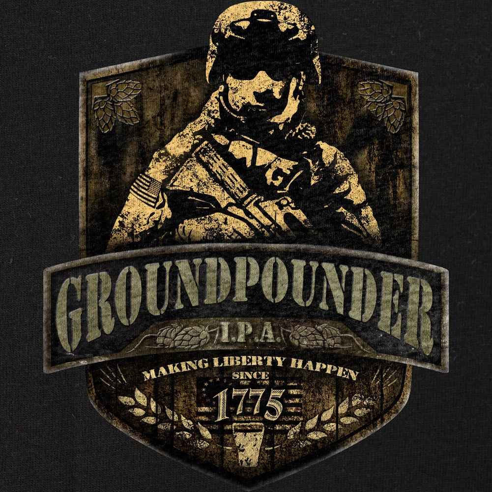 Groundpounder Making Liberty Shirt - Heather Grey - SM