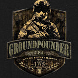 Army Groundpounder IPA Label Variant T-Shirt