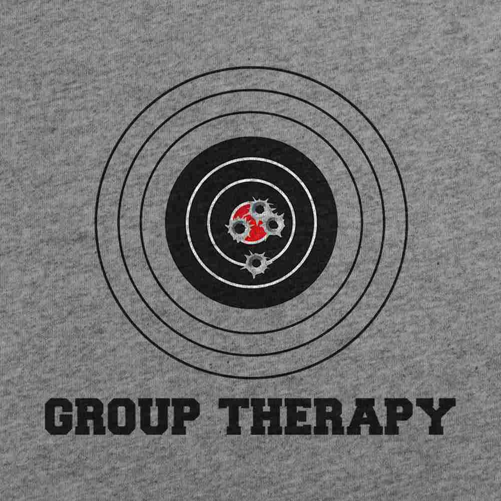 Group Therapy T-Shirt - Heather Grey - Small
