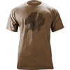 Vintage Style Air Medal (Black Ink) T-Shirt