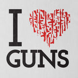 I Heart Guns Tanktop