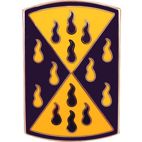 464th Chemical Brigade Combat Service Identification Badge
