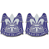 82nd Airborne Division Unit Crest (In Air, On Land)