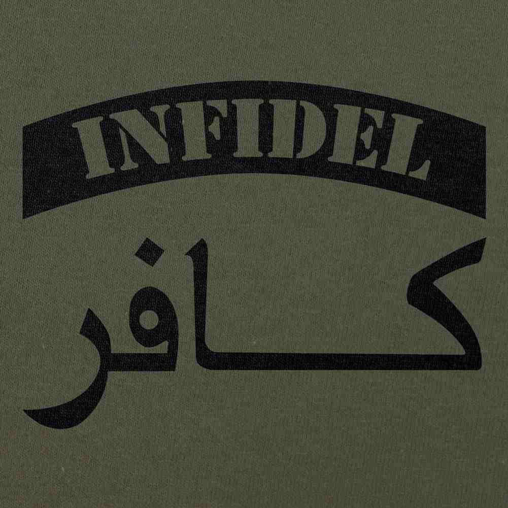 Infidel T-Shirt Sand Brown Small