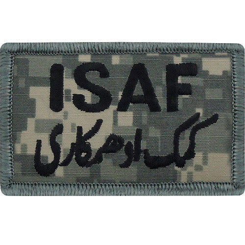 ISAF (International Security Assistance Force) ACU Patch