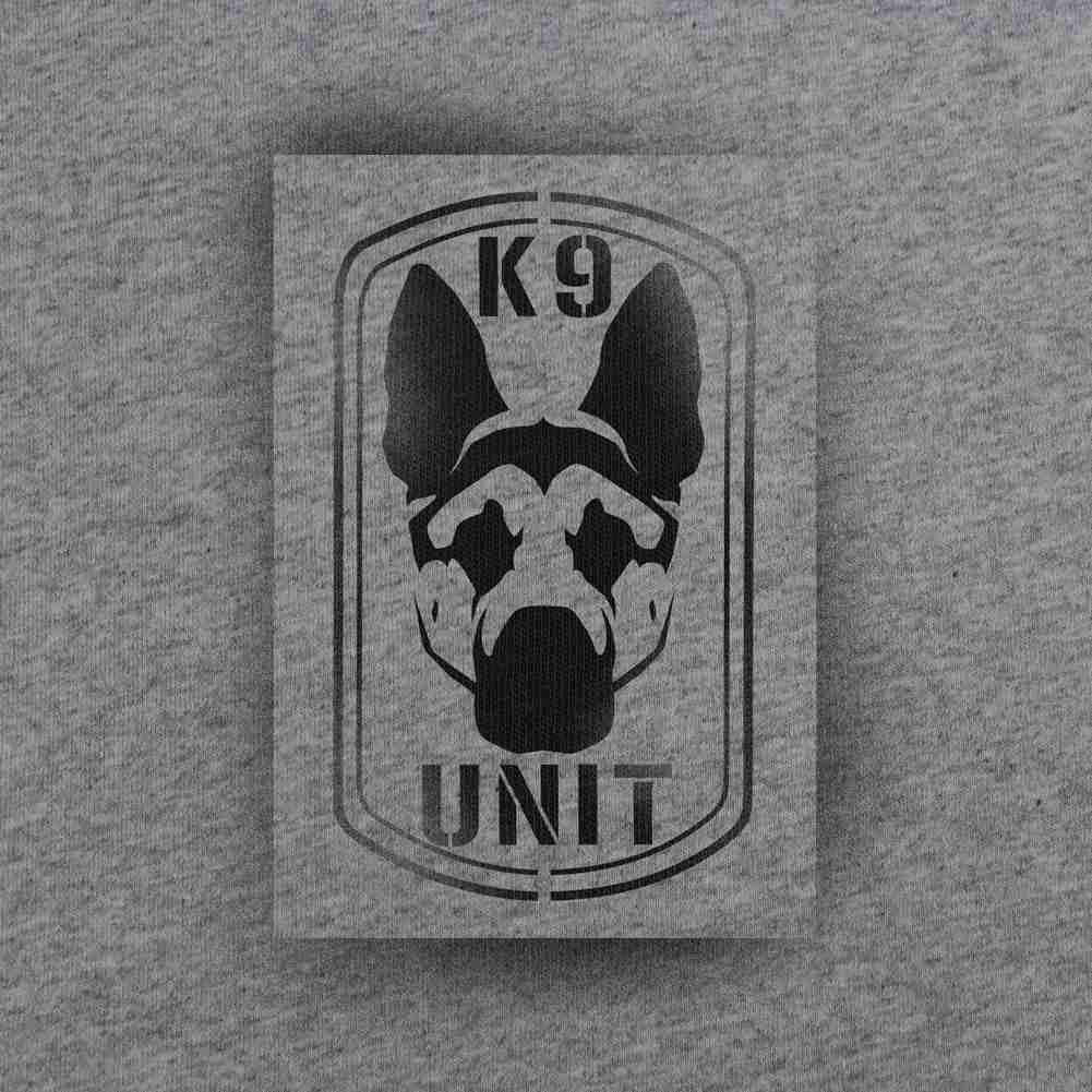 K-9 Unit T-Shirt - Heather Grey - Swatch